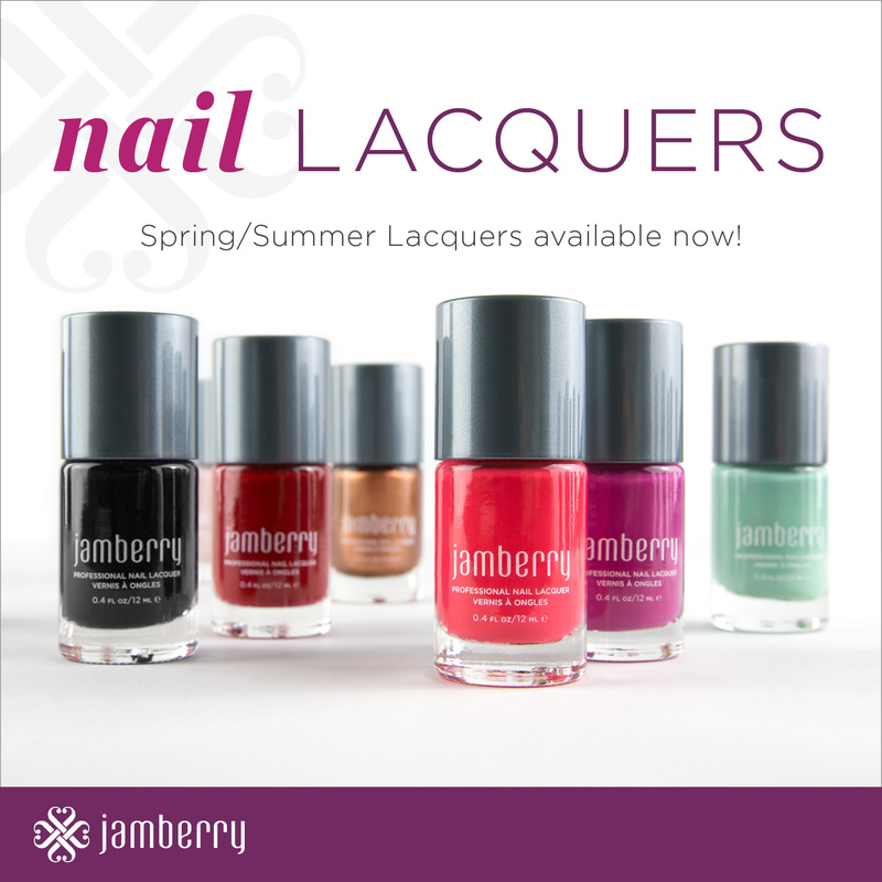 Jamberry Spring/Summer 2015 Nail Lacquers