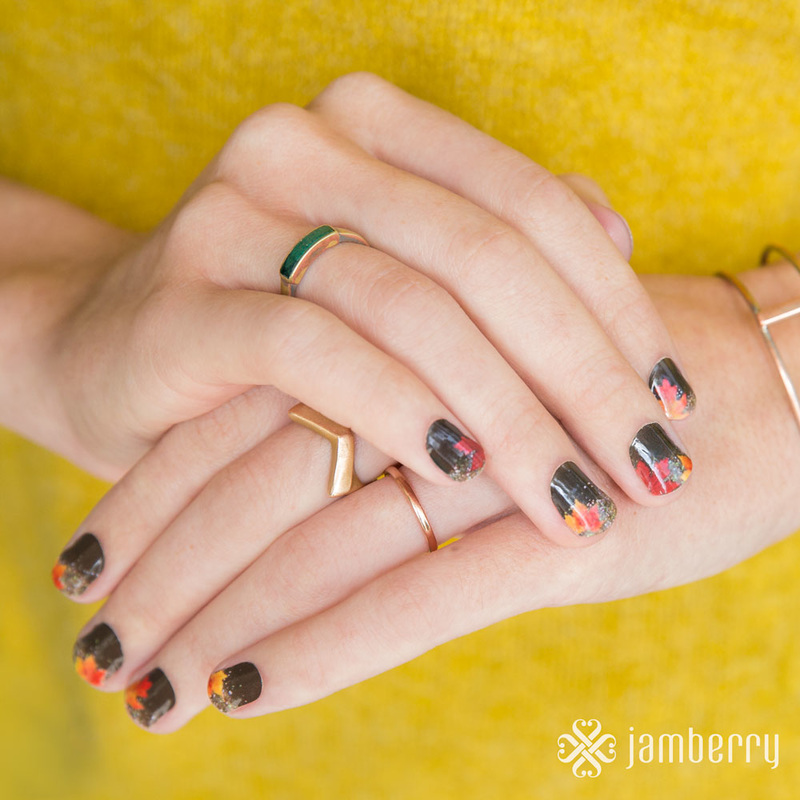 Fine Fall Nail Wraps Collection - Nail Paint Design Ideas ...
