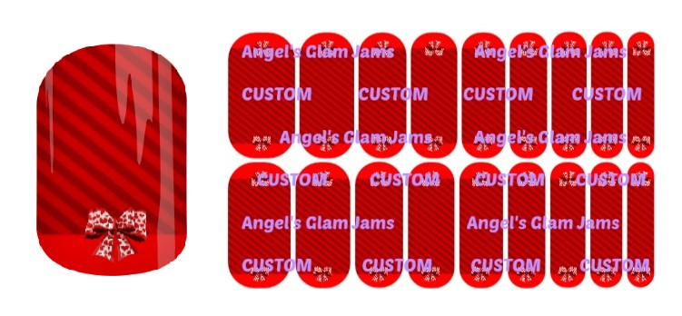 Valentine Darling Jamberry Nail Wraps by Angel's Glam Jams