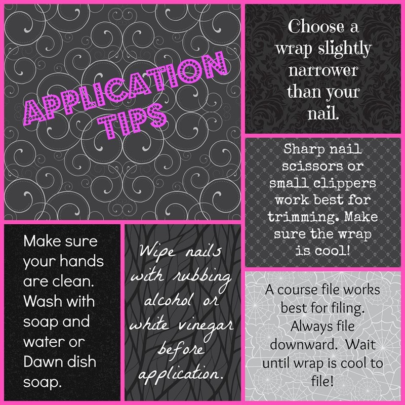 Jamberry Nails Application Tips