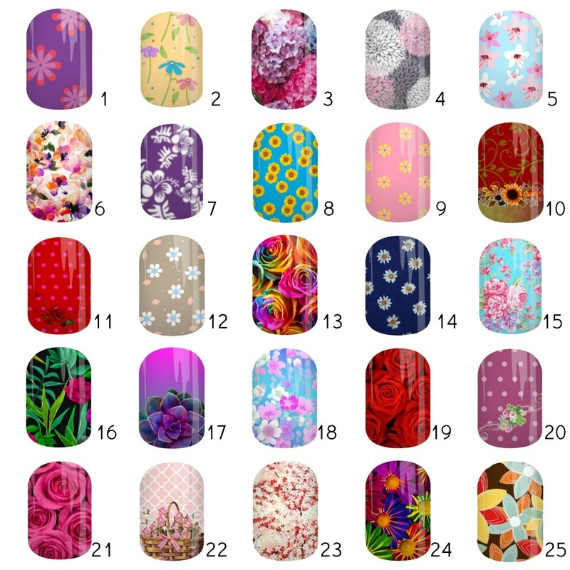 Jam-Bingo Board Floral 1 by Angel's Glam Jams