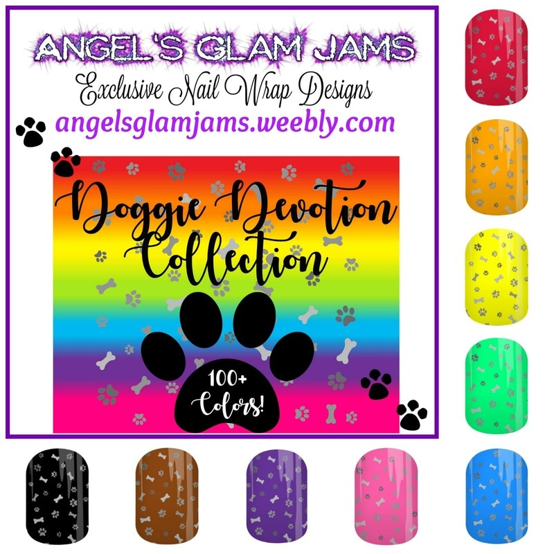 Doggie Devotion Collection Jamberry Nail Wraps